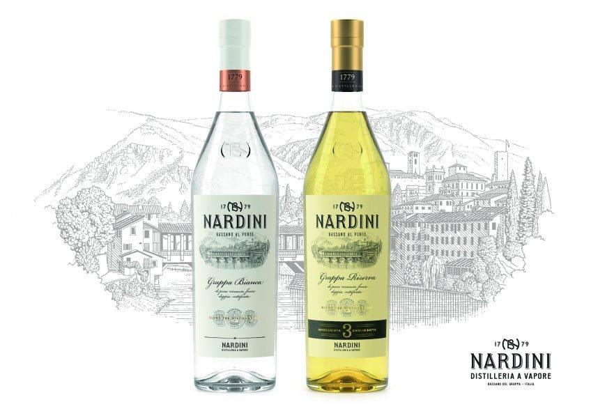 Nuovo look per la grappa Nardini