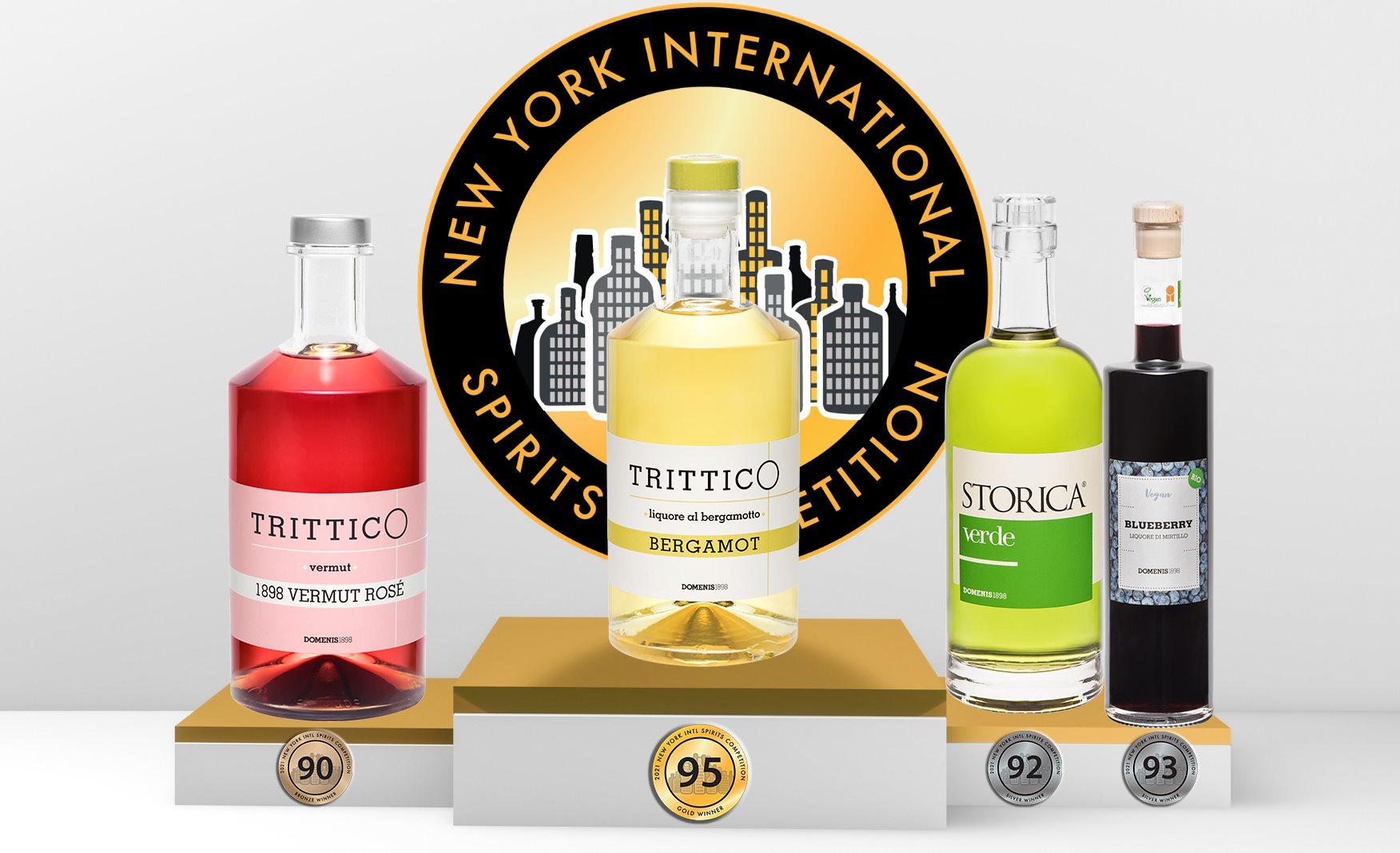 New York International Spirits: a DOMENIS1898 il premio come miglior distillato italiano alla frutta dell'anno
