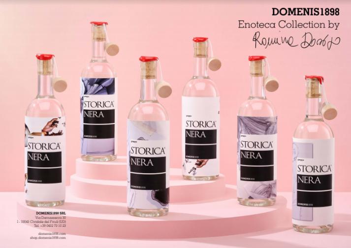 DOMENIS1898 sul red carpet dell'alta moda: ecco il nuovo design firmato Storica Nera by Romina Dorigo