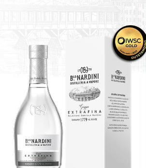 Distilleria Nardini, 'the best of the best': Extrafina vince il Grappa Trophy all'IWSC